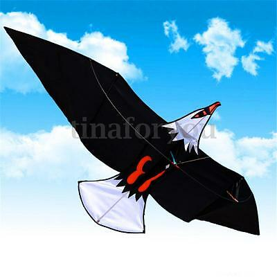 2M Huge Large Eagle Hawk Kite With Handle Easy to Fly Kids Children toy Gift