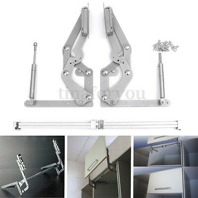 Cabinet Door Vertical Swing Lift Up Stay Pneumatic Arm Kitchen Mechanism Hinges
