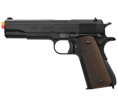 KWA Full Metal Classic M1911A1 Government Model NS2 GBB Airsoft Pistol 101-00481