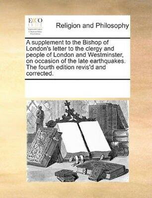 NEW A Supplement To The Bishop Of London's... BOOK (Paperback / softback)