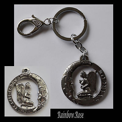 ZODIAC Keyring Pewter VIRGO Aug 23 - Sept 22 (40mm) Star Sign Key Chain