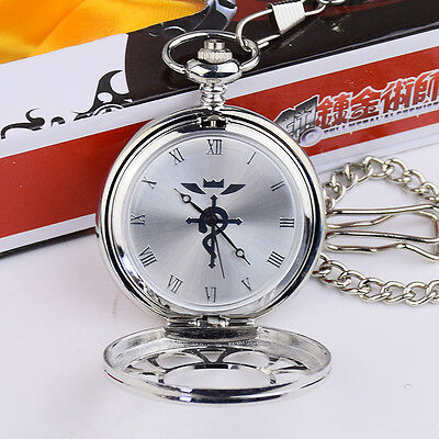Fullmetal Metal Alchemist Cosplay Pocket Watch