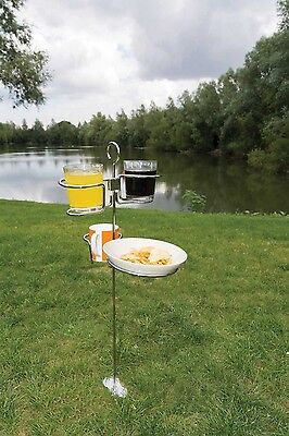 Kampa Drink & Snack Butler - Camping & Garden Table Assistant!