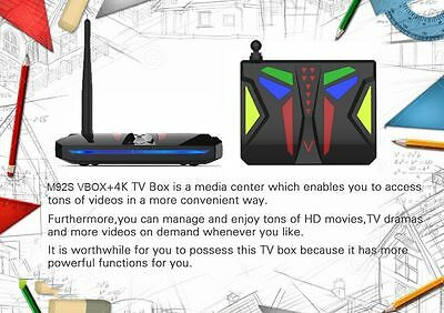 M92S VBox 4K Fully Loaded Android 6.0 S912 16GB Octa Core Smart TV Box Wifi HDMI