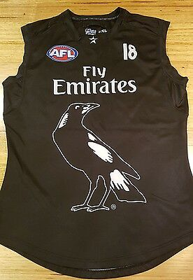 Nwot Collingwood Magpies #18 Jesse White Player Issue Jumper Jersey Guernsey