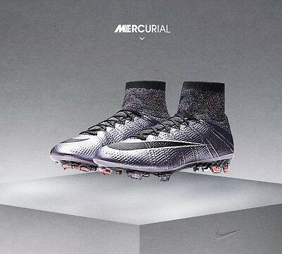 nike mercurial superfly FG ACC sock football boots size 7.5 BRAND NEW
