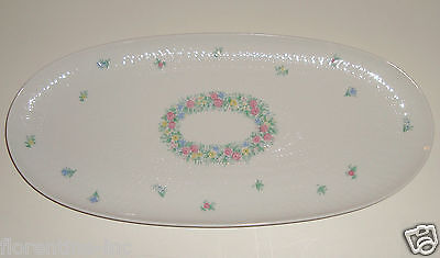 A Beautiful Rosenthal Porcelain Tray Romanze Design Bjorn Wiinblad.