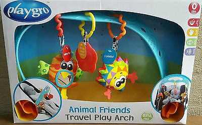 NEW Playgro - Animal Friends Travel Play Arch
