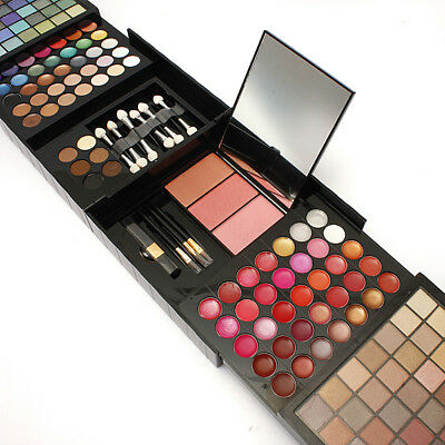 Pro 177 Color Eyeshadow Palette Blush Lip Gloss Make up Cosmetic Beauty Kit Set