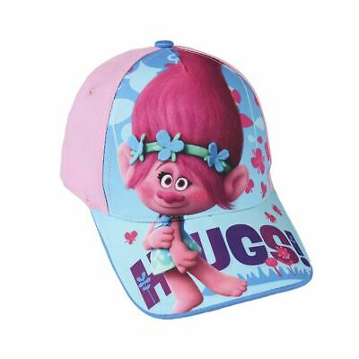 Children Kids Trolls Poppy Hugs! Hat Cap - Blue