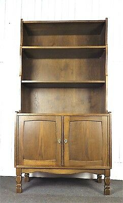 Antique style bookcase cupboard
