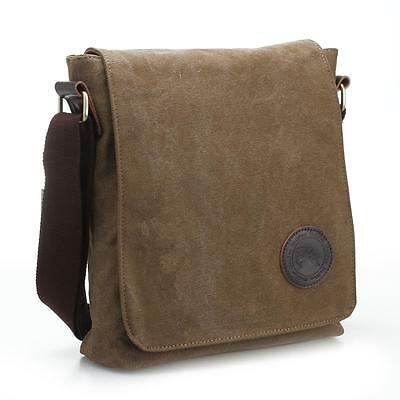 Sac Sacoche Besace Bandoulière Epaule Crossbody Homme Casual Office BRUN
