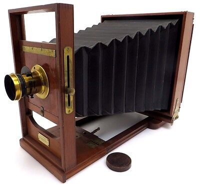 Rochester Optical Standard Plate Camera, John H. Thurston THE BOSTON Lens bq100