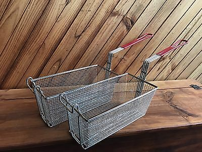 Fryer Basket  /  Deep Frying  / Fry Basket  325 x150 x150mm