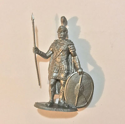 1973 Aussie Cereal Toy ~ Roman ~ Silver Warriors Soldiers Of The World, Nabisco