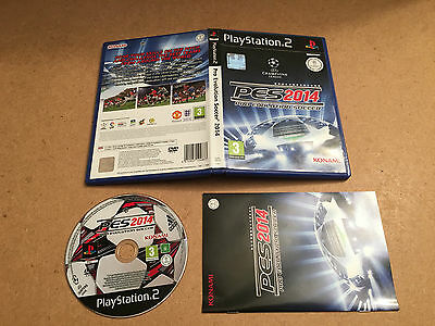 Pro Evolution Soccer 2014 - Sony Playstation 2 (PS2) TESTED/WORKING