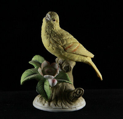 J. Byron Bird Figurine - Yellow