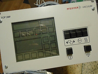 Pfeiffer TCP 380 Turbo Vacuum Pump Controller PM C01 FREE SHIPPING
