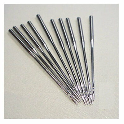 Overlock Needles DCx1F -10 needls per packet. One side of the shank on these nee
