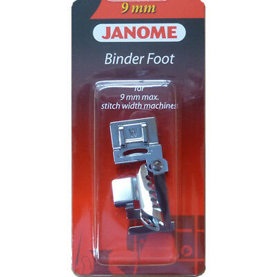 Janome Binder Foot for Janome Sewing Machine with 9mm Stitch Width