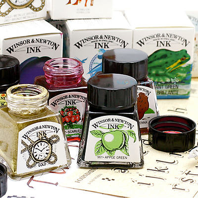 Winsor & Newton Drawing Ink 14 ml -Choose the color - Single ink