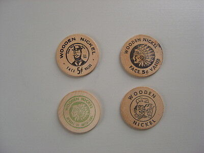 Wooden Nickels Token Lot - Miscellaneous