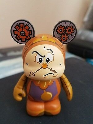 """Disney Vinylmation 3"""" Beauty And The Beast Series 1 Cogsworth"""