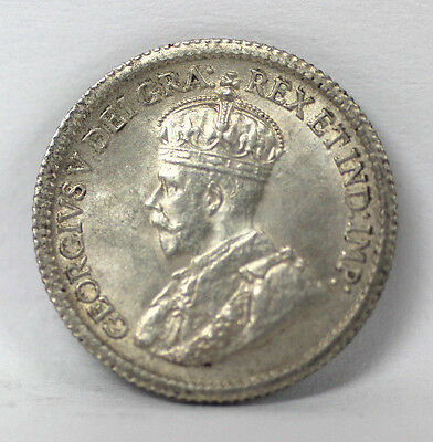 1917 Canada -5 Cents Unc #01263000g