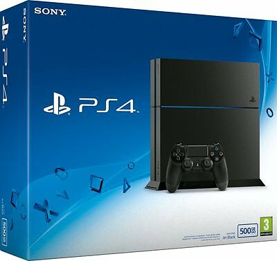 Console Sony Playstation 4 500GB - PS4 FAT CU1116A + Watch Dogs 2 COME NUOVA!