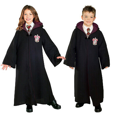 Rubies Girls Hermione Granger Gryffindor Robe Official Harry Potter Fancy Dress