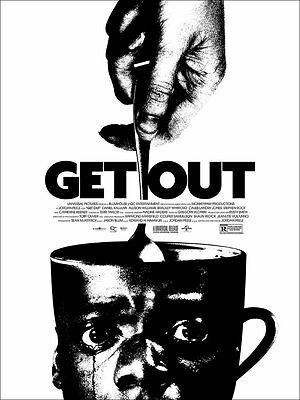 100% Authentic Jay Shaw GET OUT Mondo Mondotees Limited Edition Screen Print