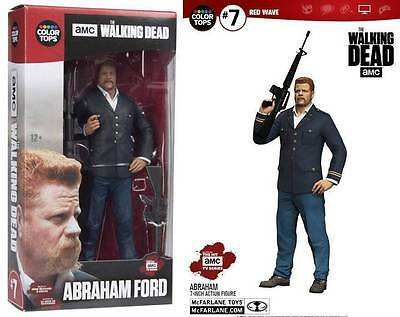 Abraham Ford THE WALKING DEAD TV COLOR TOPS 18 CM MCFARLANE ACTION FIGURE