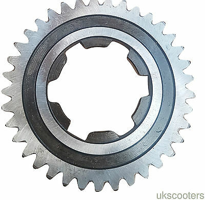 ukscooters LAMBRETTA LI 150 THIRD GEAR 37 TEETH NEW 3RD GEAR