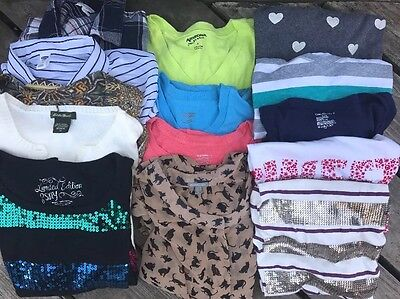 Five(5) Pounds Women's Clothing Shirts Shorts Jeans Lot Assorted Sizes Variety