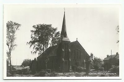 POSTCARD-SCOTLAND-KIRKMUIRHILL-RP. The Church.