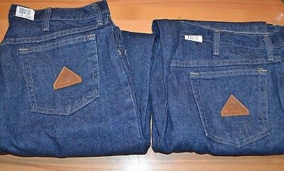 Lot of 2 Prs BULWARK Fire Resistant Blue Jeans Excel FR Mens 34x34 Arc 20.7 NEW