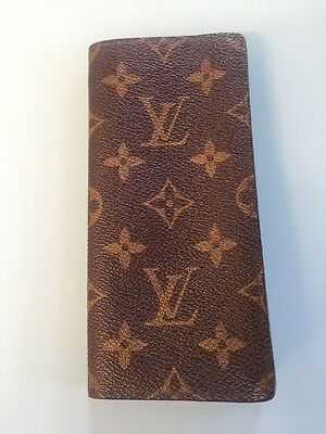 Authentic Vintage Louis Vuitton Monogram Eyeglass Sunglasses Case Holder