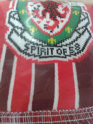 Wales football Spirit of 58 'Wales 84' red bcollege style scarf