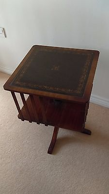 Revolving bookcase /lamp table...great condition