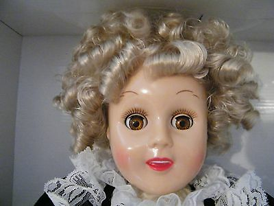 Horsman Heidi Bright Star Doll NIB -1998 Reproduction-COA Shirley Temple ages 8+