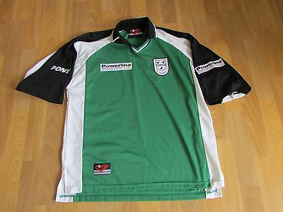 Pony WORCESTERSHIRE County CRICKET Club Powerline Shirt ADULT Size L