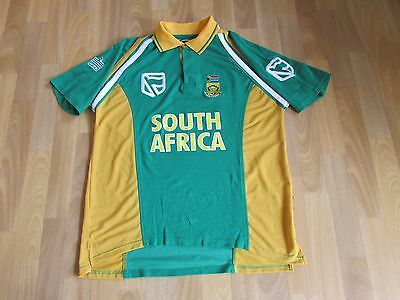 Admiral South AFRICA SA Cricket Shirt ADULT Size XL