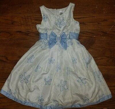 Size 6 - Gorgeous Embroidered Spring Summer Wedding Party Girls Dress!
