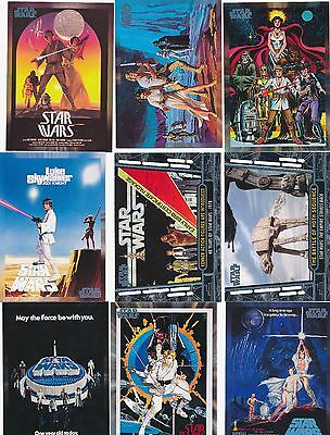 Topps 2017 Star Wars 40th Anniversary Complete Base Set  200 Cards Free Ship