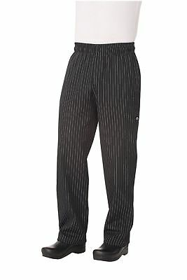 Chef Works Men's Designer Baggy Chef Pant (PINB) NEW