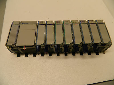 allen bradley compact 1769-pa2 with 8 modules 1 adn adapter