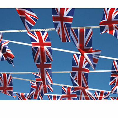 Queens 90Th Birthday Massive 16 Ft Uk Gb Union Jack Flag Bunting Decoration