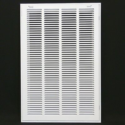 "16"" x 25"" RETURN FILTER GRILLE - Easy Air FLow - Flat Stamped Face NEW"