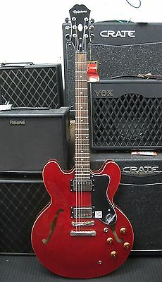 Epiphone ES-335 Dot Semi-Hollow Body Electric Guitar (Red/Cherry)