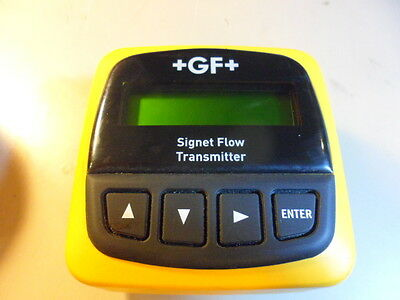 George Fisher Signet Gf 385501 Field Mount Flow Transmitter